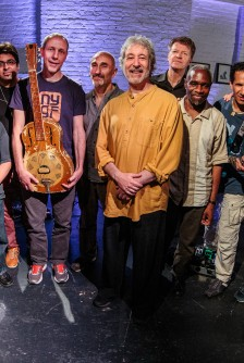 Adam Rudolph and Go: Organic Guitar Orchestra (Marco Capelli, Damon Banks, Marvin Sewell, Kenny Wessel, Joel Harrison, Rez Abbasi, David Gilmore, Jerome Harris, Nels Cline, Liberty Ellman, and Miles Okazaki): 05-25-14 ShapeShifter Lab
