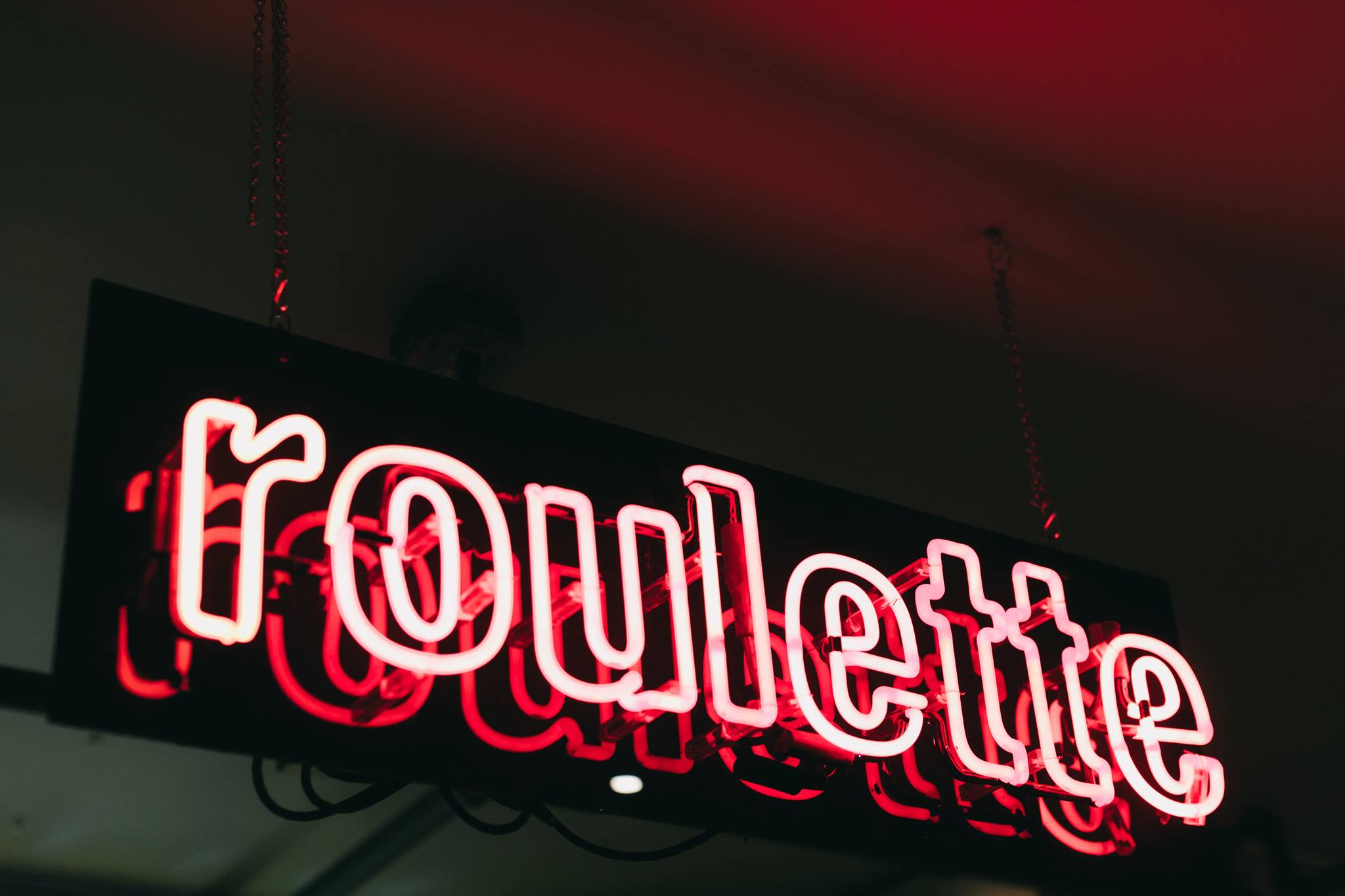 Roulette Neon Sign