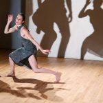 """The Construction Company A Trail of Irreverence: Sally Gross/Kenneth King/Sally Silvers """"Spookierama"""" Choreography: Sally Silvers University Settlement October 29, 2015 Photo Credit: Julieta Cervantes"""
